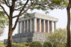 Het Mausoleum van Ho Chi Minh in Hanoi Stock Foto's
