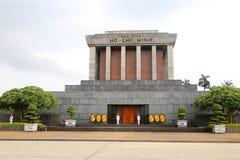 Het Mausoleum van Ho Chi Minh in Hanoi, Vietnam Royalty-vrije Stock Foto's