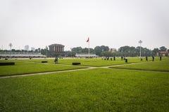 Het mausoleum van Ho Chi Minh, Hanoi, Vietnam stock fotografie