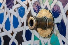 Het Mausoleum van Mohammed V in Rabat, Marokko stock foto