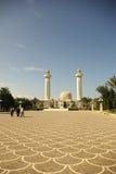 Het mausoleum van Monastir in Tunesië Stock Foto