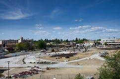 Het Mceuenpark nadert grand die na uitgebreide vernieuwingen 5-14-14 heropenen Royalty-vrije Stock Foto's