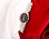 Het mechanische horloge van mensen Stock Foto