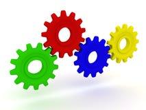Het mechanisme Stock Foto