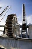 Het mechanisme van de dam Stock Foto's