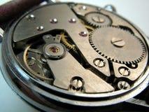 Het mechanisme van de klok Stock Fotografie