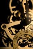 Het Mechanisme van de klok Stock Afbeelding