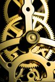 Het Mechanisme van de klok Stock Foto's