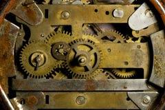 Het mechanisme van de klok Royalty-vrije Stock Afbeeldingen