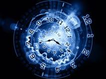 Het mechanisme van de tijd Stock Fotografie