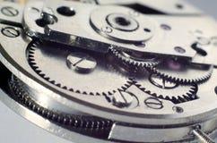 Het mechanisme van het horloge Stock Fotografie
