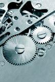 Het mechanisme van het horloge Stock Foto's