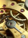 Het mechanisme van het zakhorloge Stock Afbeeldingen