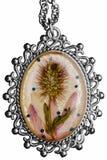 Het medaillon van handwork royalty-vrije stock afbeeldingen