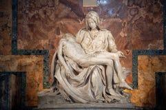 Het medelijden (Michelangelo) Stock Foto's