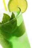 Het Medicijndrankje van de Munt van de cocktail Stock Foto