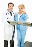 Het medisch Gecontroleerde Programma van de Oefening stock foto's