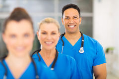 Het medische beroepsziekenhuis Stock Foto's