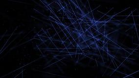Het medische milieu van wetenschapsstokken met DOF blauw royalty-vrije illustratie