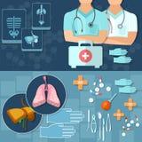 Het medische onderzoekröntgenstralen van medische artsenberoeps Stock Foto