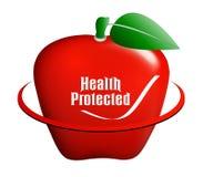 Het medische pictogram van de appel Royalty-vrije Stock Fotografie
