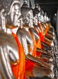 Het mediteren Buddhas Stock Foto