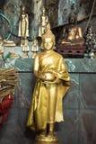 Het mediteren Buddhas Stock Foto's