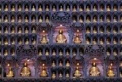 Het mediteren Buddhas Royalty-vrije Stock Afbeelding