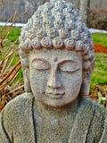 Het Mediteren & x28 van Boedha; Hoofd en Shoulders& x29; Stock Afbeeldingen