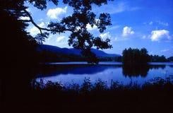 Het meer Royalty-vrije Stock Foto's
