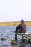 In het meer Royalty-vrije Stock Foto