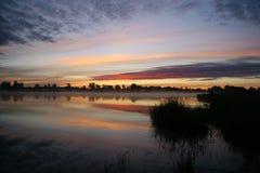 Het meer Royalty-vrije Stock Foto