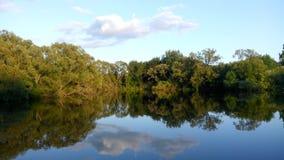 Het meer Stock Foto's