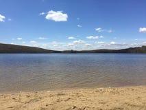 Het meer Stock Foto
