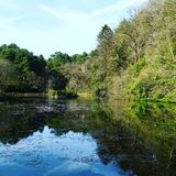 Het meer Stock Afbeeldingen