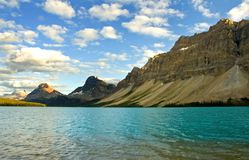 Het Meer Alberta van de boog Stock Foto