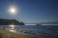 Het meer Baikal stock fotografie