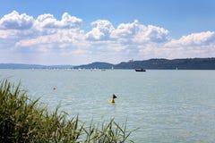 Het Meer Balaton in Hongarije Royalty-vrije Stock Afbeelding