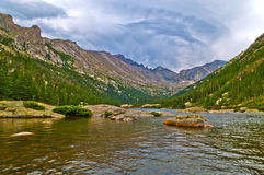 Het Meer Colorado van molens royalty-vrije stock foto