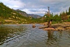 Het Meer Colorado van molens royalty-vrije stock afbeelding