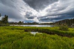 Het Meer Colorado van Sprague stock fotografie