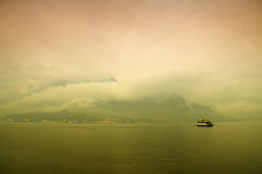 Het Meer Como, Italië Stock Foto's
