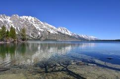 Het meer en de berg Royalty-vrije Stock Fotografie