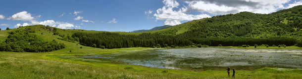 Het meer Hrast van Glamoc Stock Foto's