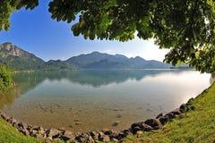 Het meer/Kochelsee van de berg Royalty-vrije Stock Afbeelding