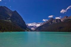 Het meer louise Stock Afbeelding