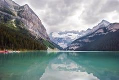 Het meer louise Royalty-vrije Stock Afbeelding