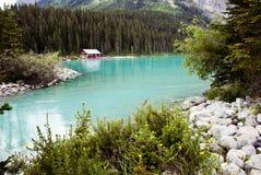 Het meer louise Royalty-vrije Stock Fotografie