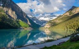 Het meer louise Royalty-vrije Stock Foto