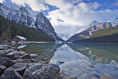 Het meer louise Royalty-vrije Stock Foto's